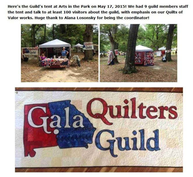 arts in the park 2015 guild