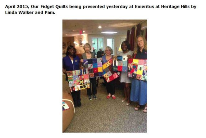 fidget quilts heritage hills